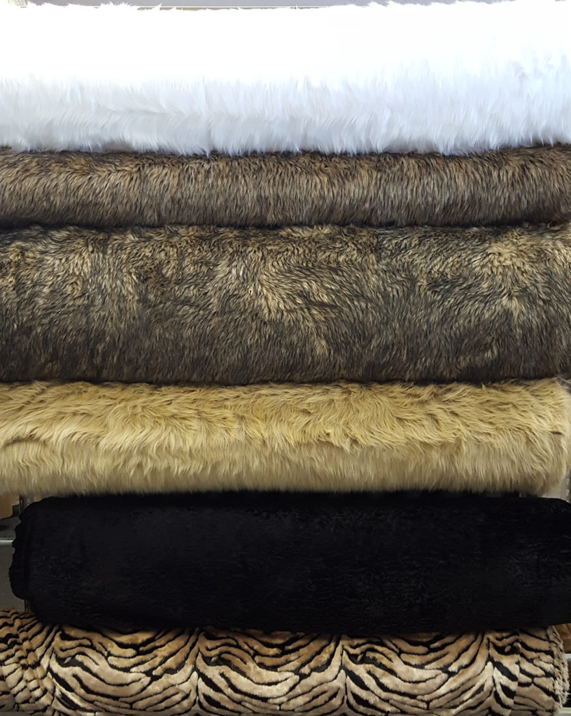 Faux Fur Clothing Fabric in San Antonio