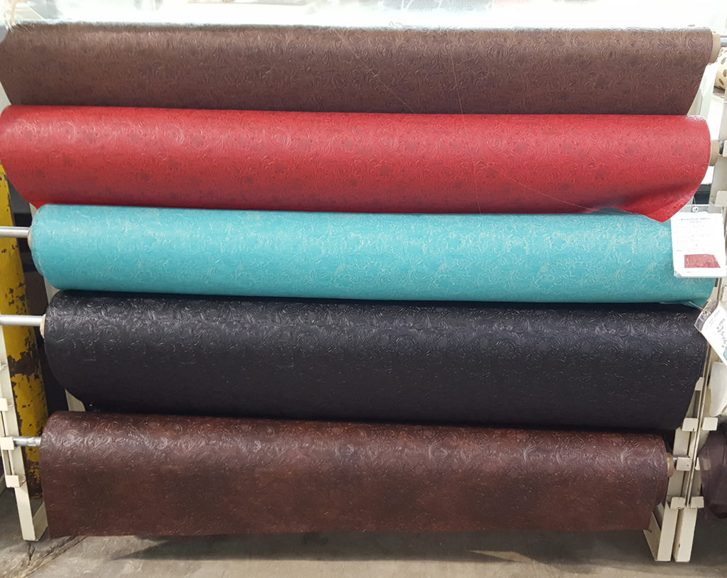 Embossed Vinyl Fabrics in San Antonio
